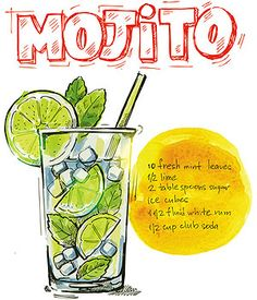Illustration about Vector hand drawn picture of mojito glass. Illustration of drawing, modern, green - 34928677 Mojito Drink, Summer Parties, Summer Drinks, Cuban Mojito, Red Wine Benefits, Cocktail Pictures, Food Doodles, Bubble Milk Tea, Cocktail Shaker