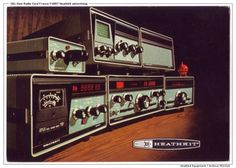 Heathkit SB-104 and accessories, from the 70's.