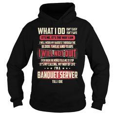 Banquet Server Job Title T-Shirt T Shirts, Hoodies. Check price ==► https://www.sunfrog.com/Jobs/Banquet-Server-Job-Title-T-Shirt-Black-Hoodie.html?41382 $39.99