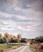 """Ralph Fontenot Bio — Strecker-Nelson Gallery  Ralph Fontenot  The short of it is """"I am an art teacher, and I like to paint pictures."""" The long version may be boring... I am a traditional painter, and watercolorist by choice. I believe there is truth in a well-executed rendering ...  I. .....I have found that there is also a need to """"document"""" if you will, structures, and buildings that interest me."""