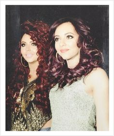Jesy Nelson and Jade Thirlwall Jesy Nelson, Perrie Edwards, Girl Bands, Little Mix, Girl Group, Jade, Queens, Fashion, Moda