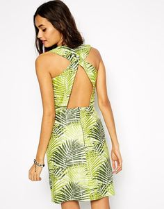 Find the best selection of Sika X Asos Dress in Palm Print with Open Back. Shop today with free delivery and returns (Ts&Cs apply) with ASOS! African Print Dresses, African Prints, African Tops, Asos Dress, Palm Print, Latest Fashion Clothes, Fashion Styles, Latest Dress, Dress Backs