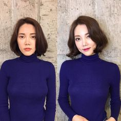You'll be shocked by these before and after Korean makeup shots