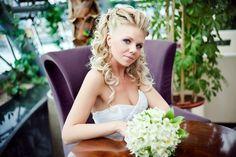 Bridal long locks #hot #sexy #hairstyles #hairstyle #hair #long #short #buns #updo #braids #bang #blond #wedding #style #haircut #bridal #curly #bride #celebrity #black #white #trend #bob #girl #pantyhose #stockings #bikini #legs