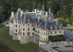 Biltmore House- aerial view