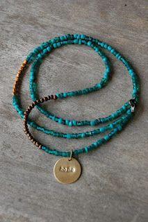 Handmade necklace by faradaisyjean