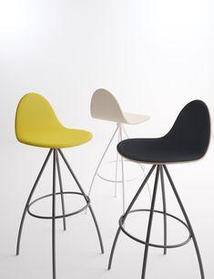 Taburete PETRIS #cancio #taburetes #diseño #interiorismo #decoracion #cocinas #cociart Eames, Chair, Furniture, Design, Home Decor, Kitchens, Interiors, Decoration Home, Room Decor