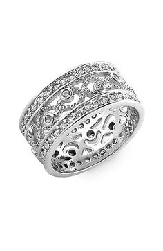 Ariella Collection Open Cubic Zirconia Band available at #Nordstrom I really love this only 48.00!
