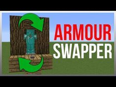 Minecraft 1.11: Redstone Tutorial - Armour Stand Swapper! - YouTube