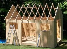 to build a Garden Shed Buy a ready made shed or build one with your own hands? Find out how easy is to build a garden shed!Buy a ready made shed or build one with your own hands? Find out how easy is to build a garden shed! Storage Building Plans, Storage Shed Plans, Building A Shed, 10x10 Shed Plans, Free Shed Plans, Backyard Sheds, Outdoor Sheds, Garden Sheds, Garden Tools