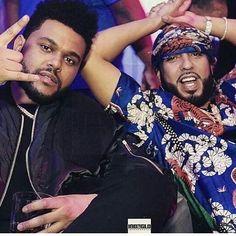 Abel & French Montana? #weeknd #XO Thanks to @thekingknd