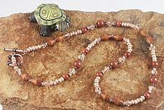 Jewelry Making Idea: Crazy for Copper Necklace (eebeads.com)