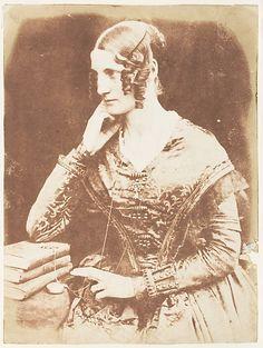 Unidentified Woman, 1843-7  David Octavius Hill  (Scottish, Perth 1802–1870 Edinburgh)  From the Met