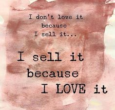I LOVE what I sell!!!! I would NEVER promote a product I don't love! #lovemakeup #makeup #younique