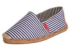 This Sailor Suit Blue Stripe Prima Loafer is perfect!