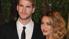Liam Hemsworth and Miley Cyrus engaged