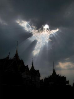 Real Photos Of Angels | Ethereal| Ethereal ' angel' appears in clouds: Does It look like a angel? Description from pinterest.com. I searched for this on bing.com/images