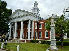 Taylor County Courthouse. Butler, GA. Built in 1935.