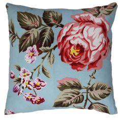 Mulberi Blue Blossom Cushion
