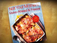 Freezer Cooking, plus a Jessica Fisher's new cookbook on Freezer Cooking! #healthyeatingonabudgetfreezercooking