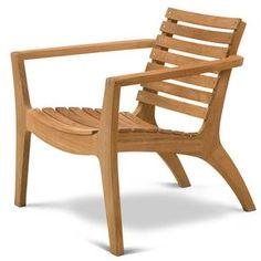 Hans Thyge: Regatta Lounge Chair - Danish Design Store