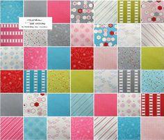 Layer Cake Fabric Assortment  Sew Stitchy by FeatheredNest97030, $35.00