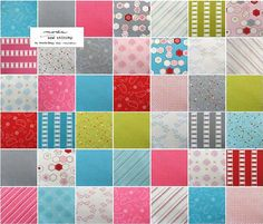Layer Cake Fabric Assortment  Sew Stitchy by FeatheredNest97030, $35.00