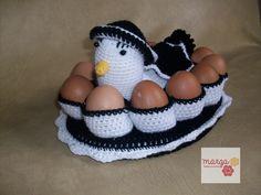 Gallina guardahuevos