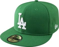 MLB Los Angeles Dodgers Kelly with White 59FIFTY Fitted Cap by New Era. $19.55. 100% Wool. Embroidered Team logo in raised embroidery at front. 59FIFTY fitted cap in fashion color. Officially licensed by Major League Baseball. 59FIFTY is the official on-field cap of Major League Baseball and is worn by every Major League Baseball player. With this fashion version of the 59FIFTY you can show your team pride with style.