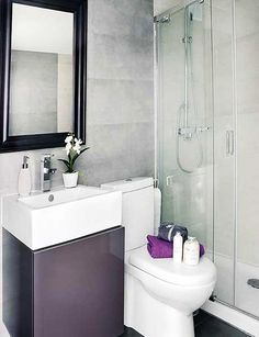Apartment Bathrooms looks pretty cool. but the shower area too small? | interior
