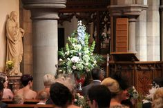 Flower Design Events: Church Pedestal Design