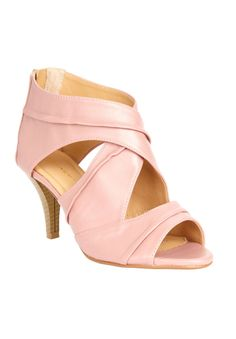 Gemma Crisscross Peep toe Sandal by Comfortview® |