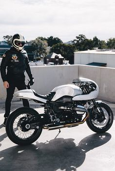 "When Confucius said ""all good things are difficult to achieve and bad things are very easy to get,"" he might not have been talking about motorcyclists, but I'm sure he'd agree Stuart's story fits the bill. Having pieced together a very tasty Triumph Thruxton, Stuart, a Sydneysider originally from Switzerland, was minding his own business when cruising the CBD on his bike when a tourist in the harbourside city came straight through a red light and took him out. Both man and machine..."