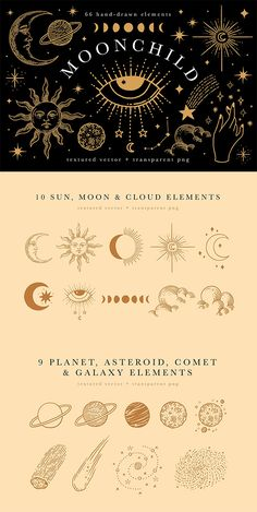 Cute Tattoos, Small Tattoos, Eye Illustration, Design Illustrations, Bauch Tattoos, Sun Moon Stars, Graphic Design Projects, Galaxy Art, Moon Art
