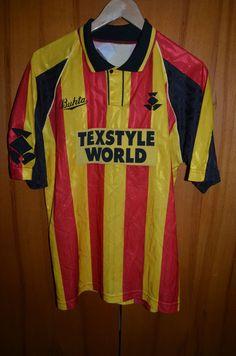 PARTICK THISTLE SCOTLAND 1993/1994 HOME FOOTBALL SHIRT JERSEY BUKTA VINTAGE