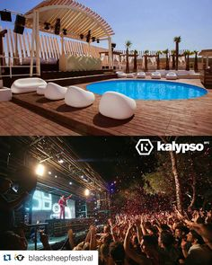 #Repost @blacksheepfestival  Presenting festival arena no.1 - @kalypsozrce club. Kalypso was the first club opened on Zrce beach. It is famous for its beautiful relaxing lounge daytime area and exquisitely interesting forest nighttime area. The atmosphere is hard to describe! #bsf2016 #zrce2016 #kalypso #kalypsozrce #club #clubbing #party #islandofpag #croatia #novalja #zrce #zrcebeach #pool #poolparty #forest #blacksheepfestival
