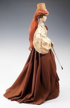 1830 doll from the Gratitude Train, Madeleine de Rauch 1949 MET Fashion Mannequin, Fashion Dolls, Women's Fashion, Historical Costume, Historical Clothing, Historical Dress, Victorian Fashion, Vintage Fashion, Riding Habit