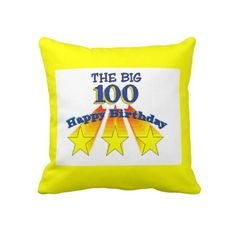 Happy Birthday Pillow Gifts Year Anniversary Brithday
