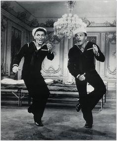 Danseur de talent, Frank Sinatra excelle aux côtés de son grand ami Gene Kelly. #FrankSinatra #MACdelasemaine #NYCreativeCity