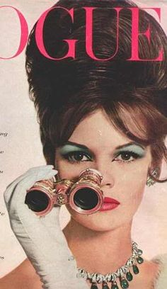 60s beehive & blue eyeshadow