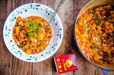 A big pot of smoked paprika stew