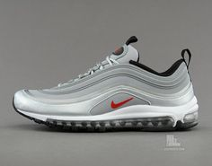 Nike Air Max 97 Tape Metallic Silver Detailed Pictures