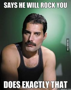 I think the world needs more Freddie Mercury.