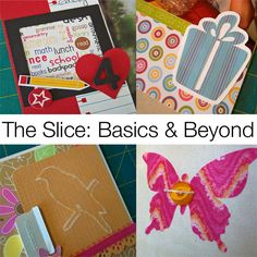 The Slice: Basics and Beyond is a 5 week class designed to help Slice owners become comfortable with their machines. Students will create projects using the different features of the Slice, using the different embossing and drawing tips and cutting different materials.