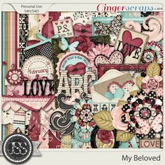 My Beloved by Just So Scrappy at GingerScraps.net. Date of Purchase: 4/20/2015