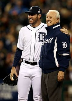 Detroit Tiger, Justin Verlander and  Al Kaline