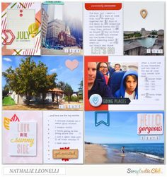 My Month in Numbers: July 2015 by Nathalie Leonelli using August This Life Noted kit