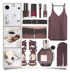 """Chic Gift"" by racanoki ❤ liked on Polyvore featuring H&M, Viktor & Rolf, Nina Ricci, Barneys New York, BeckSöndergaard, Vero Moda, Bobbi Brown Cosmetics, NARS Cosmetics, Urban Decay and RaCaNoKi"
