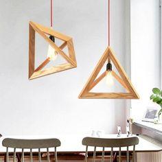 Forest Homes - Products - Minimal Triangles Pendant Light #Light #Lighting #ceilinglights #outdoorlighting #lamp #pendantlighting #tablelamps