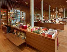 Almacenaje/exposición Crystal Bridges Museum Store / Marlon Blackwell Architect